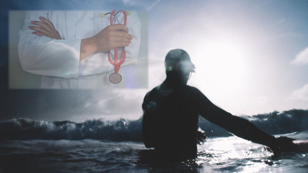 Scuba diving positive effects on human health