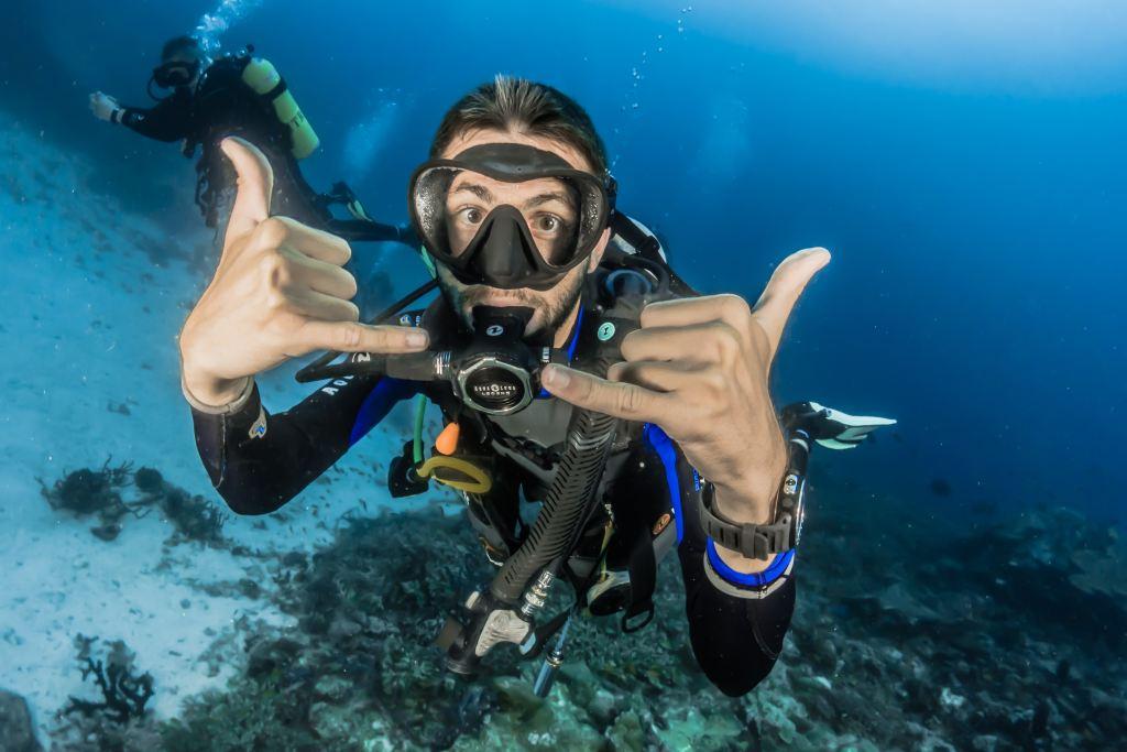 Scuba diving is healthy