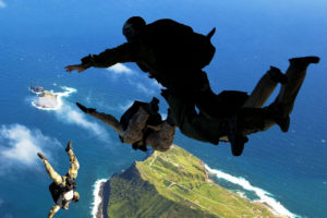 Scuba diving & Skydiving; what's the catch?