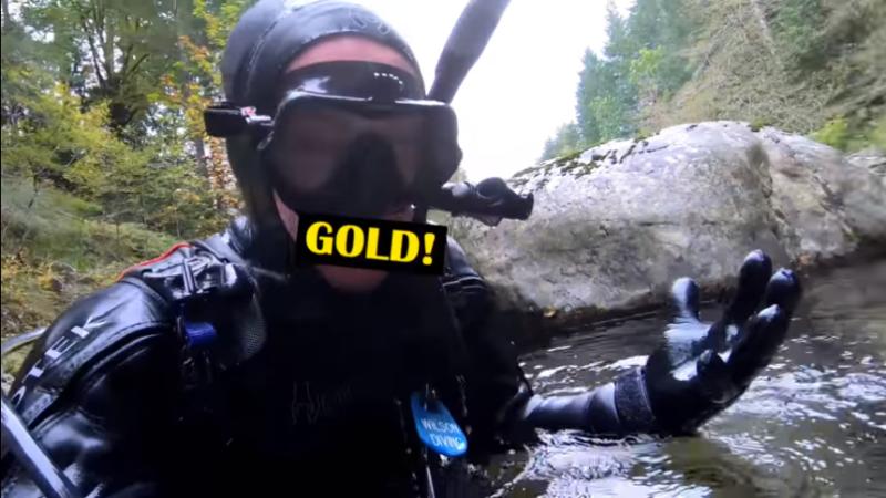 Have you ever scuba dive for a lost treasure?