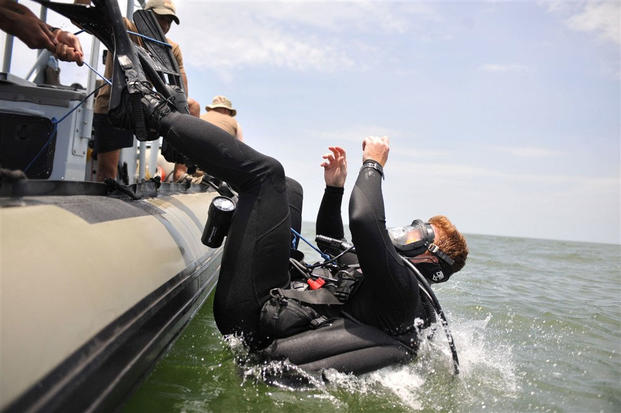 Navy technical diving