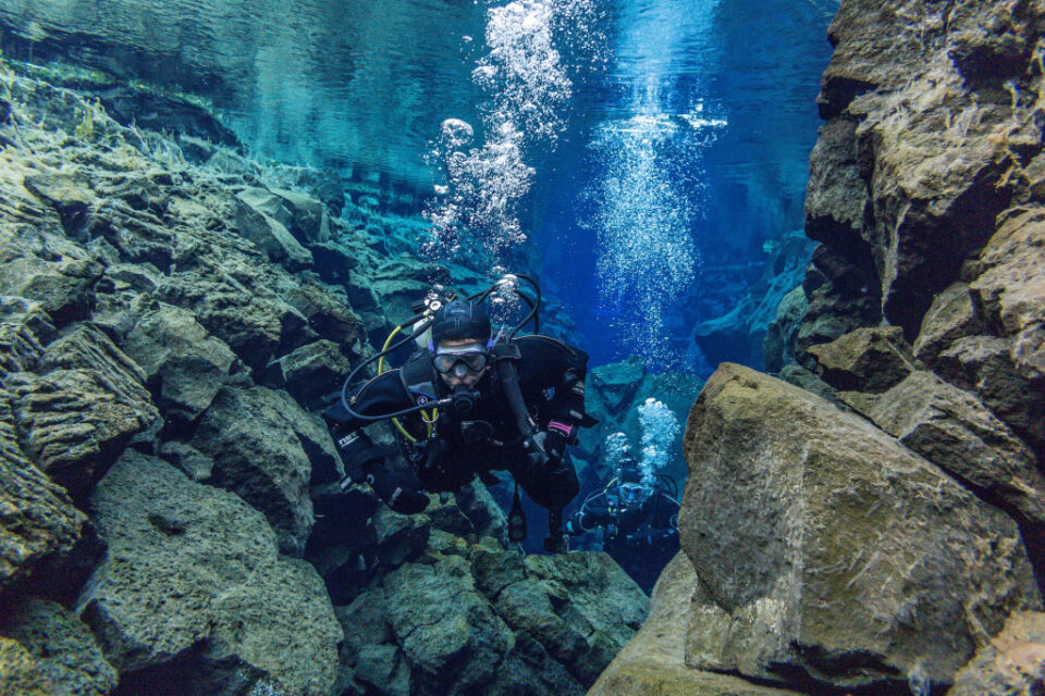 What is technical scuba diving?