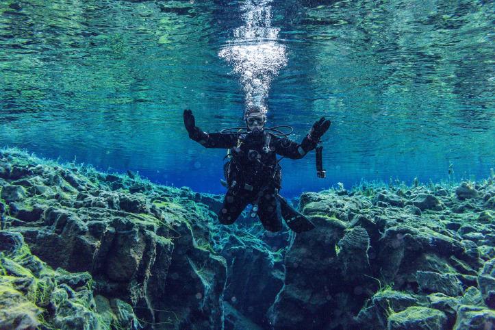 Underwater Island adventures
