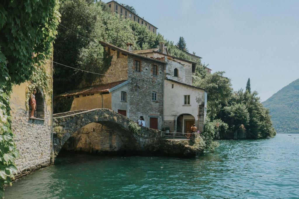 Visit less known tourist area; Lake Como, Italy