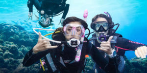What not to do if you want to get your friends into the diving world