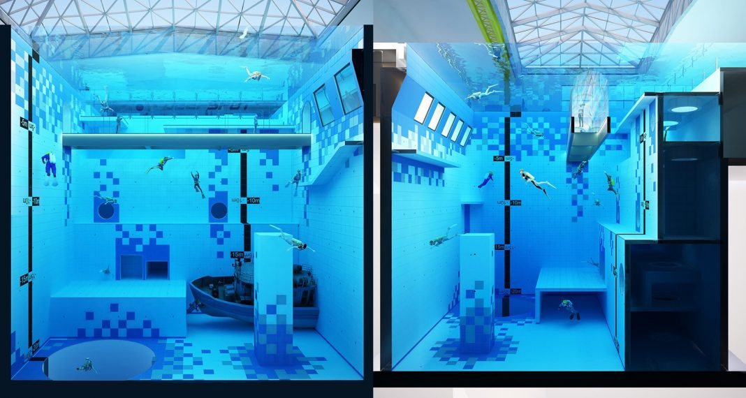 'DEEPSPOT' In Poland – The deepest pool in the world