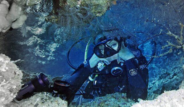 Nausea underwater