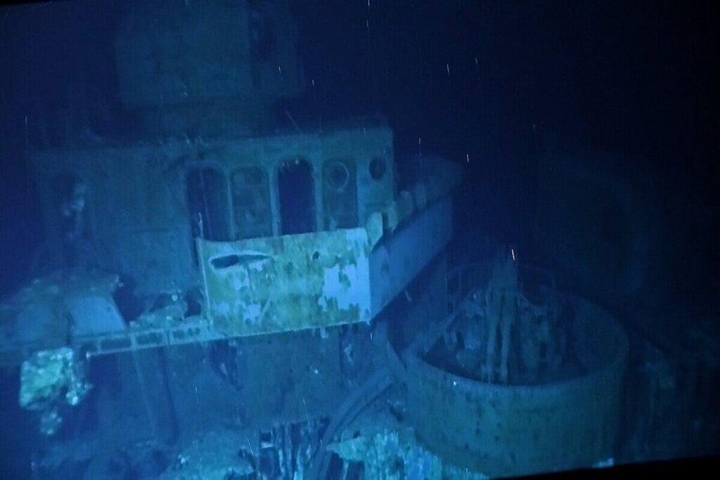 shipwreck USS Johnston