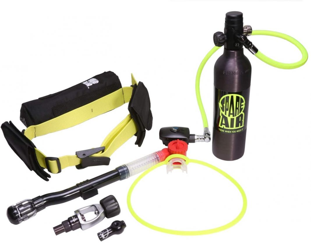 Read more about the article Spare air Xtreme 6 mini scuba kit